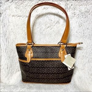 NWT Giani Bernini Block Signature Tote
